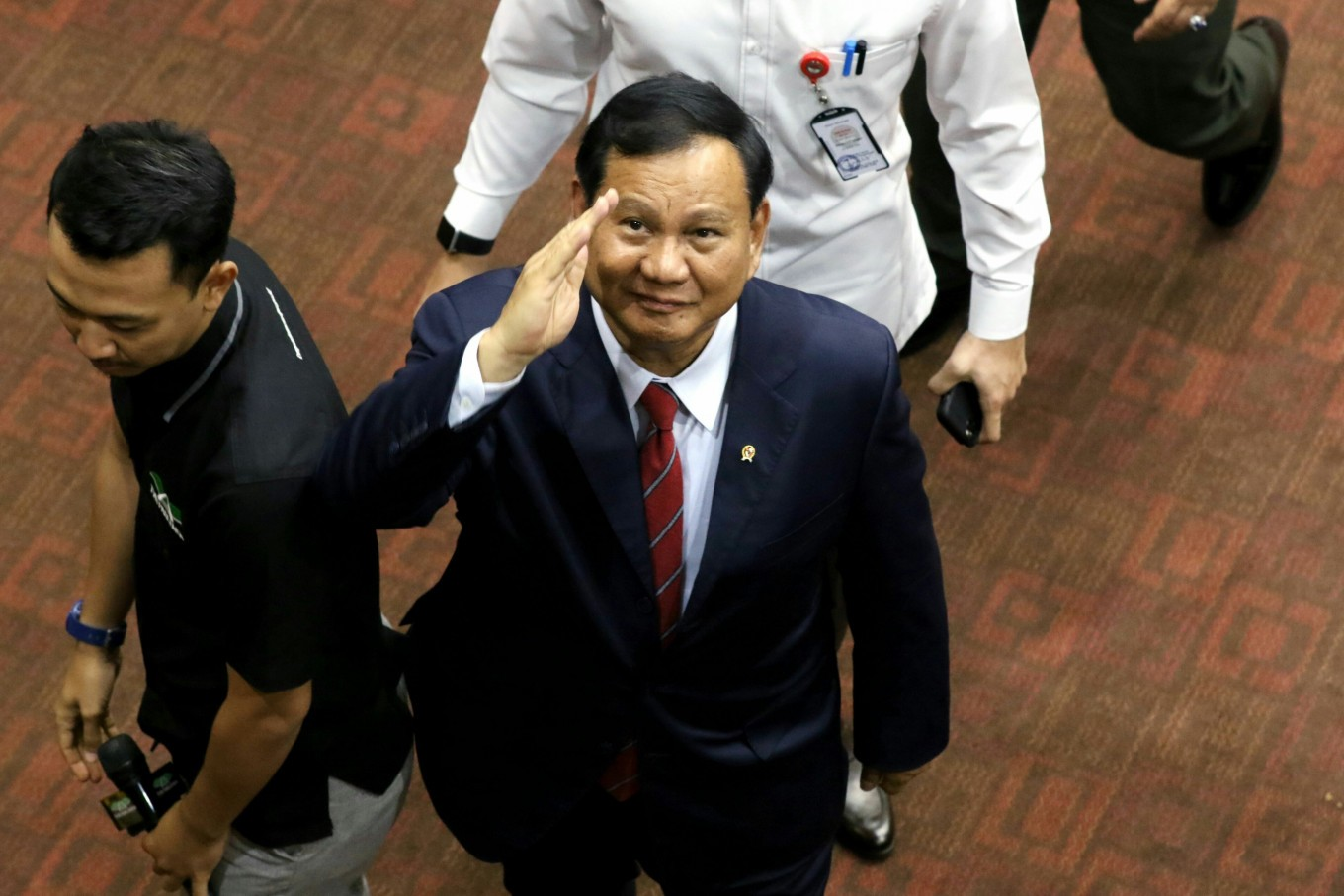 New survey finds Prabowo has highest name recognition, best job approval among ministers
