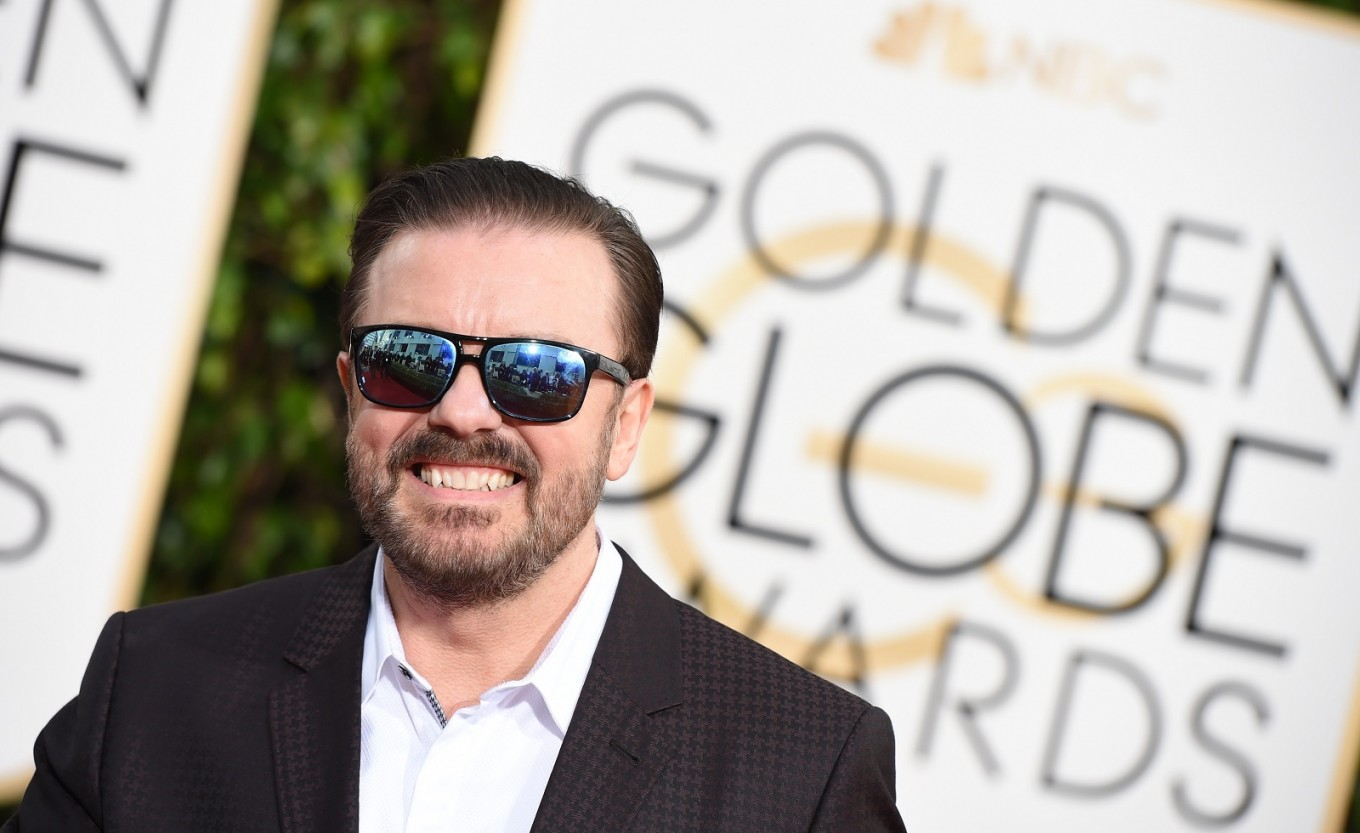Ricky Gervais to host record fifth Golden Globes