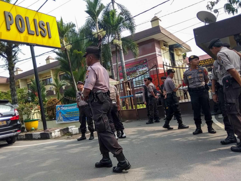 Convicted terrorists on Batam Police radar following Medan suicide attack