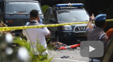 BREAKING: Apparent suicide bombing hits Medan Police precinct headquarters