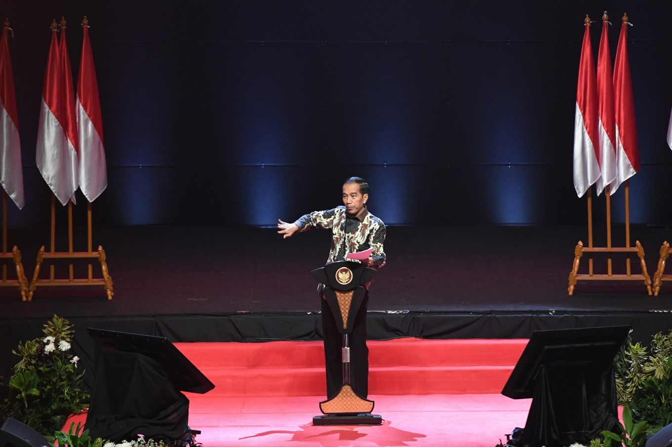 Handle dissent delicately, Jokowi tells military, police citing Hong Kong unrest