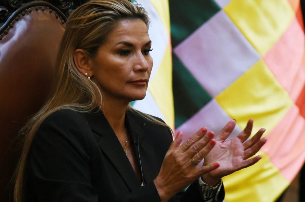 US recognizes Jeanine Anez as Bolivia's interim president