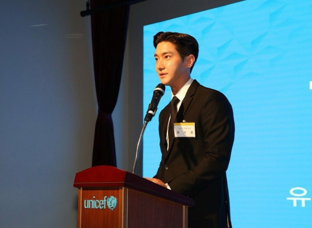 K-Pop star Choi Si-Won named new regional ambassador for UNICEF