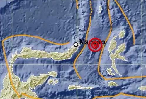 More than 70 aftershocks after 7.1-magnitude earthquake in N. Sulawesi, N. Maluku