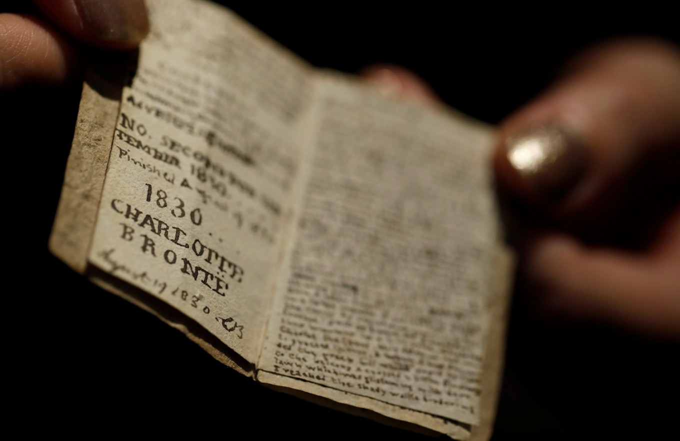 Bronte museum pays 780,000 euros at auction for miniature manuscript