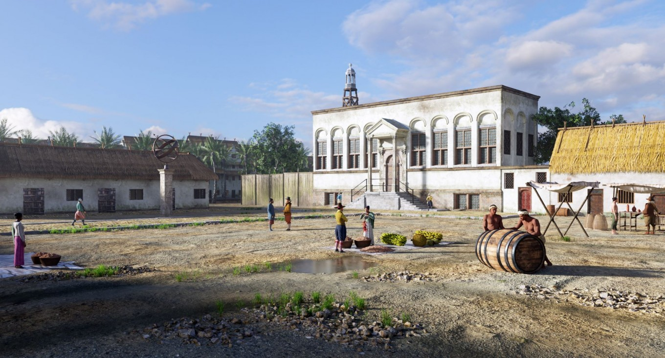 Dutch museum offers virtual reality journey to old Jakarta