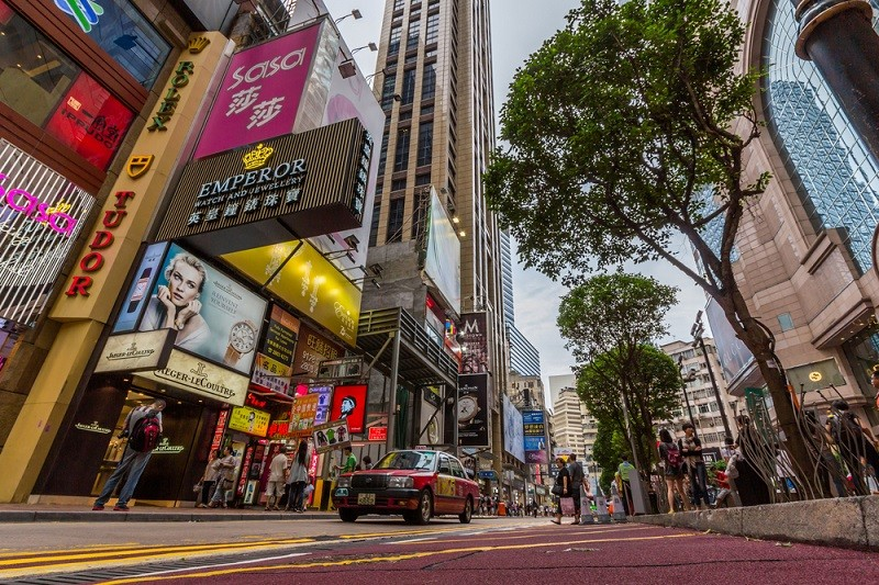 Hong Kong's Causeway Bay remains world's most expensive shopping street