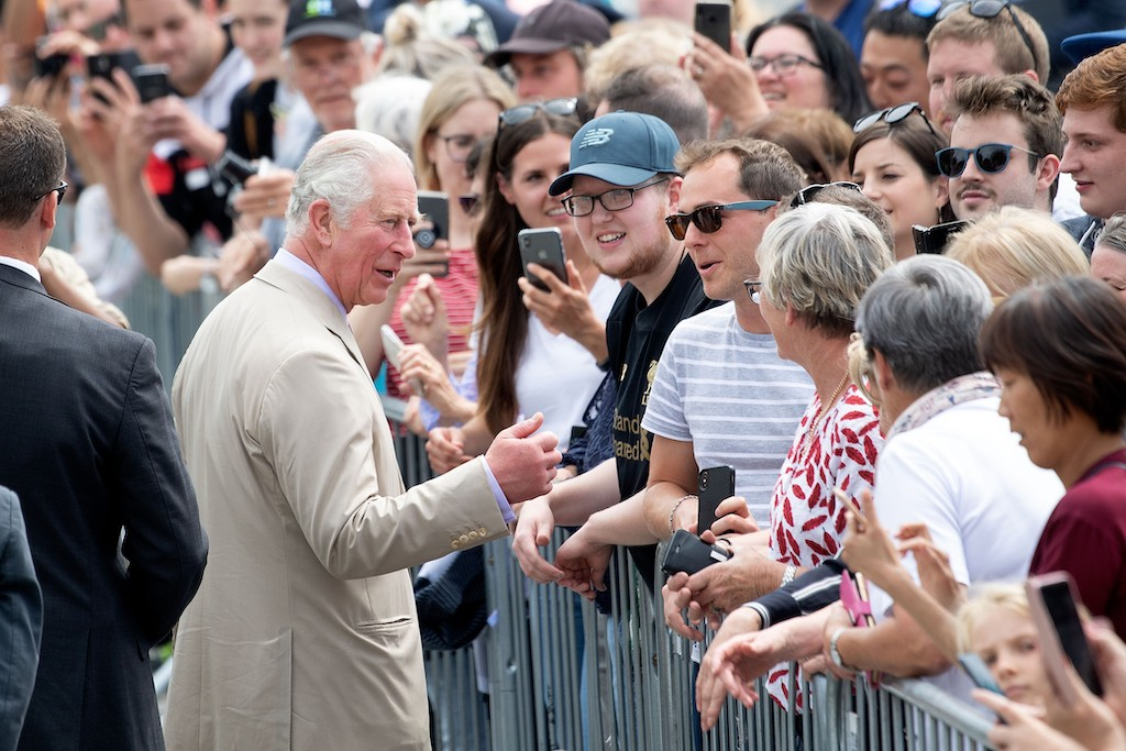 Prince Charles warns of climate 'tipping point'