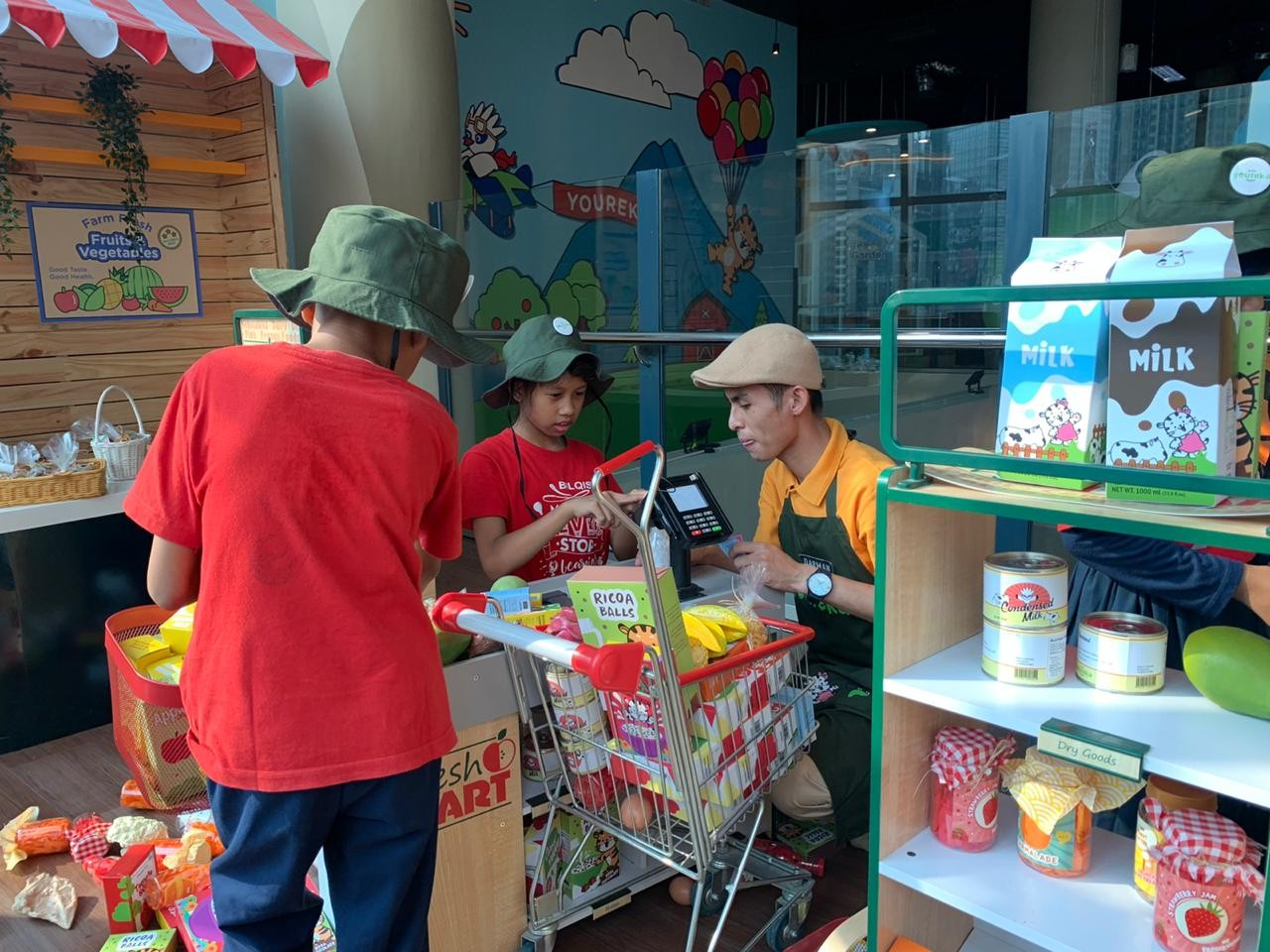 Youreka Kids Farm opens in Jakarta's Kuningan City