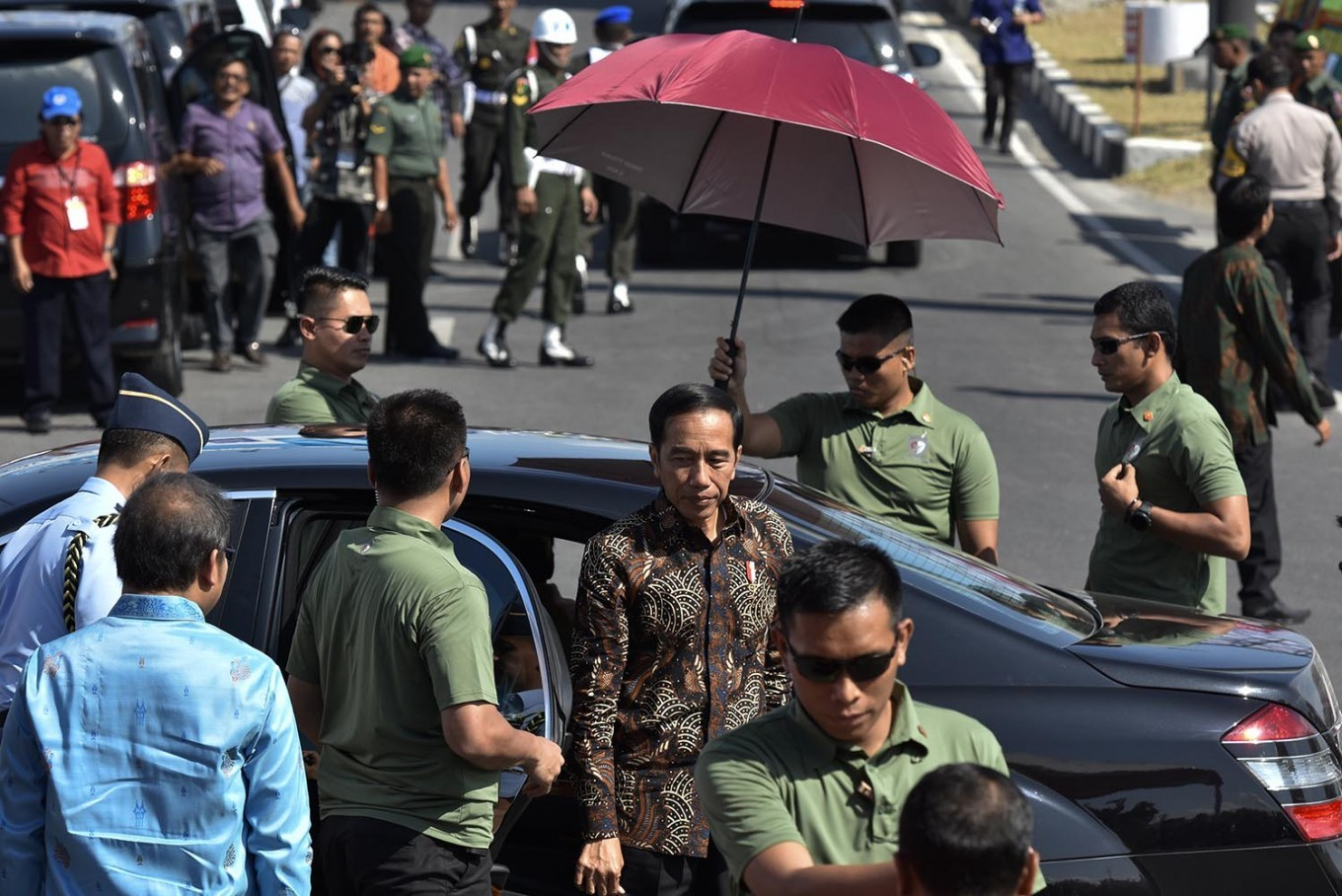 Our country can't be pressured: Jokowi talks trade strategies