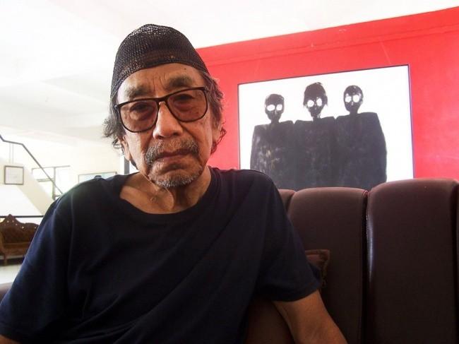 Maestro painter Jeihan Sukmantoro passes away at 81