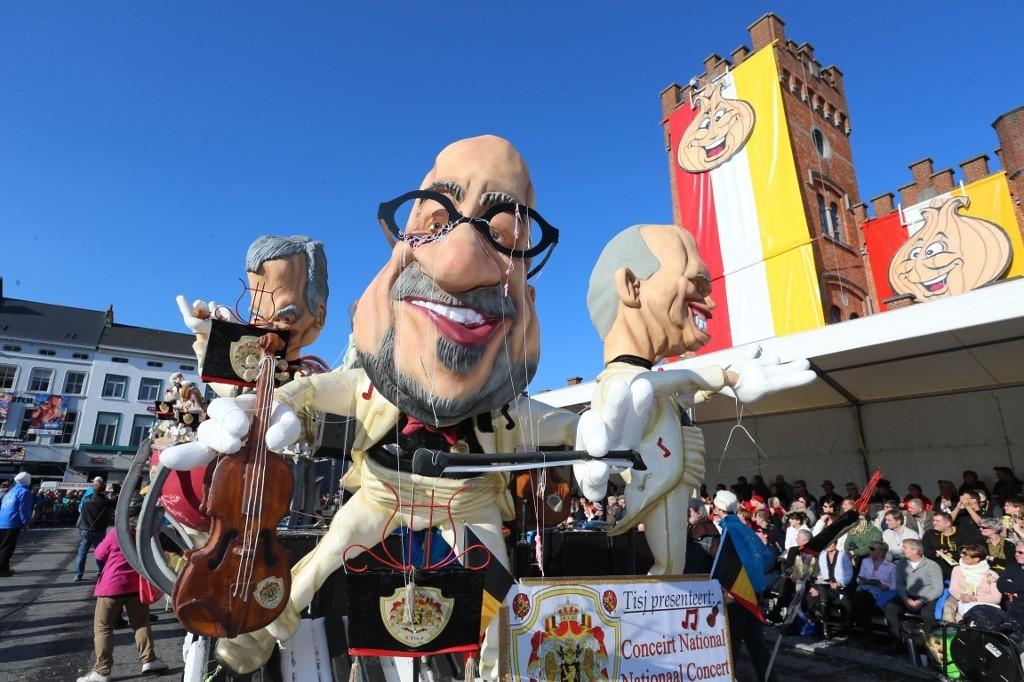 Belgian carnival drops UNESCO status over 'anti-Semitic' float