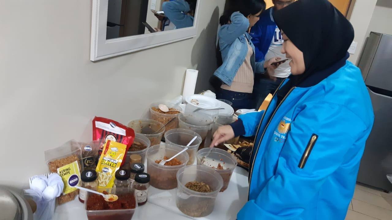 SEA Games: Indonesian kitchens offer athletes, journalists good food, place to bond
