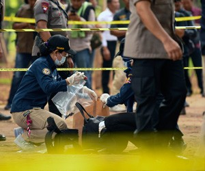I thought it was a fake explosion, says witness of blast at Jakarta's Monas