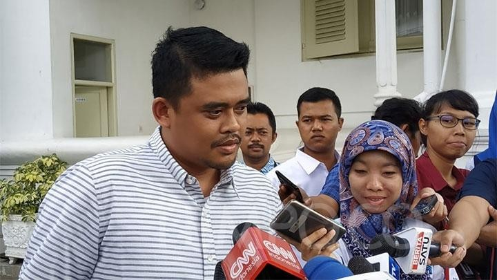 What political dynasty? Jokowi's son-in-law says bid for Medan mayor is for development