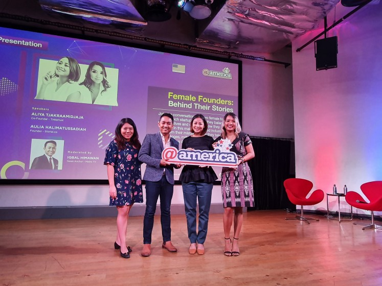 Tech women: Bringing 'double the experience' to the table