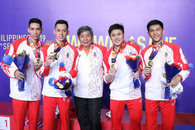 SEA Games: Indonesia badminton men's team win sixth consecutive gold