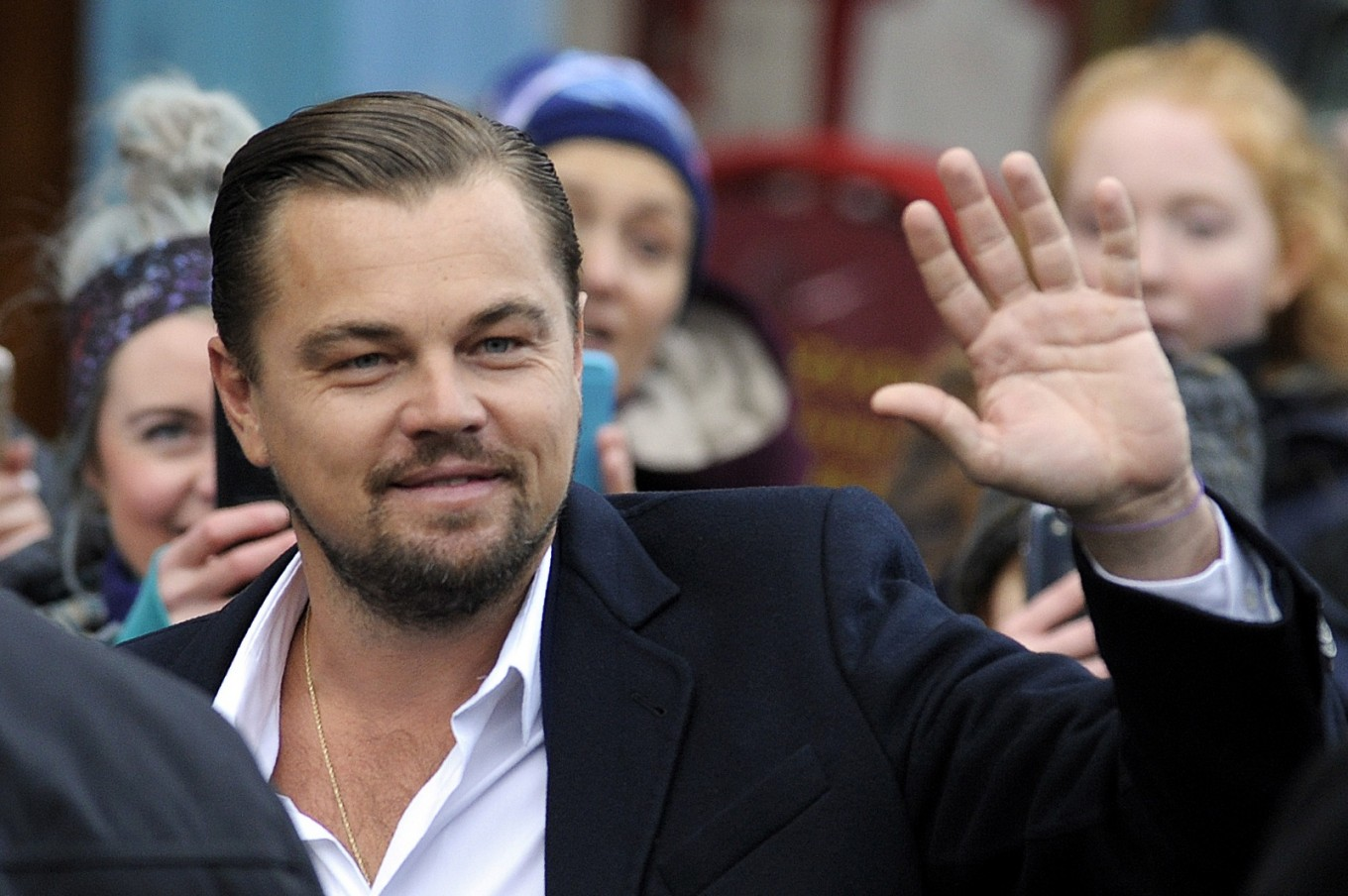 Leonardo DiCaprio shows support for Sumatran orangutan conservation program