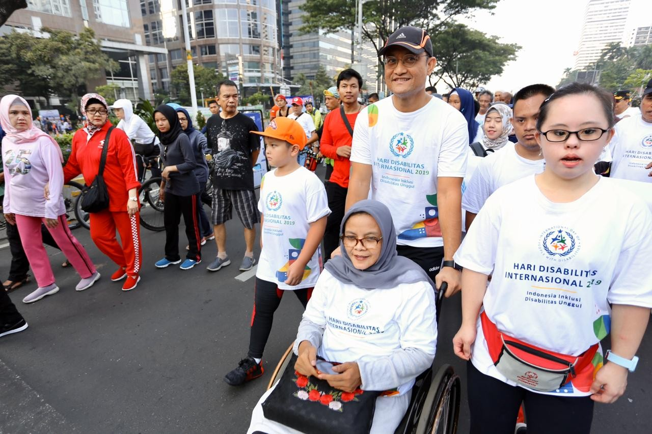 Coalition challenges Jokowi's regulation on disabilities commission at Supreme Court