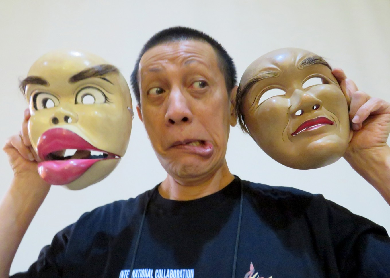No laughing matter: Didik Nini Thowok takes part in fund-raiser for Malang's veteran artists