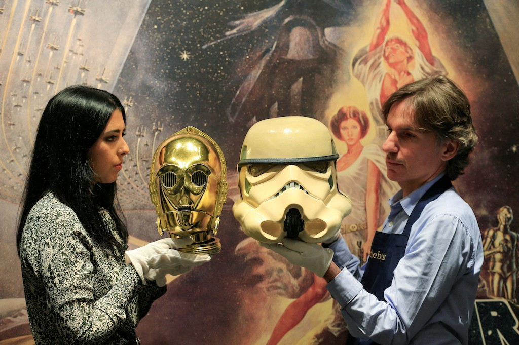 From posters to helmets, Star Wars collectibles up for auction