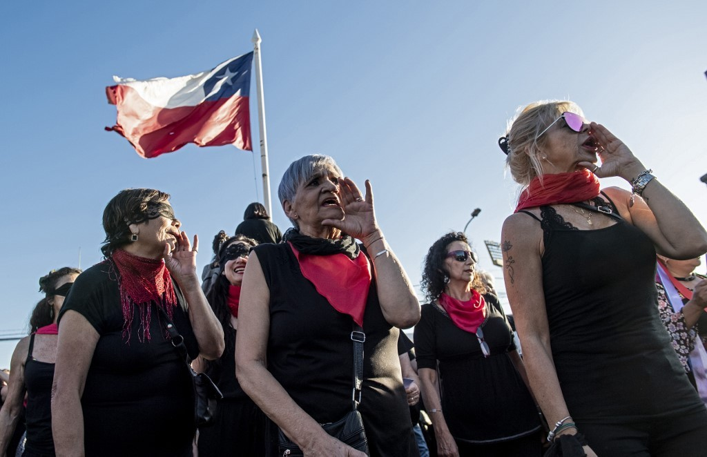 Chile anthem against sexual violence goes viral