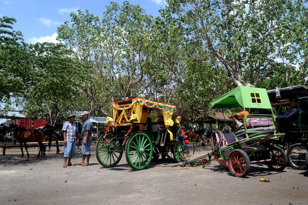 Plembon Market also sells horse-drawn carts and carriages.