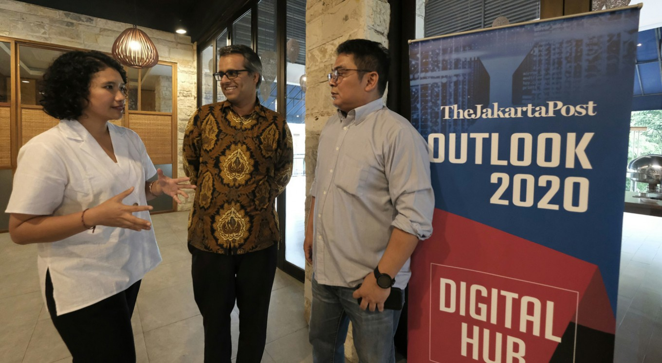 The Jakarta Post Outlook 2020: Digital Hub