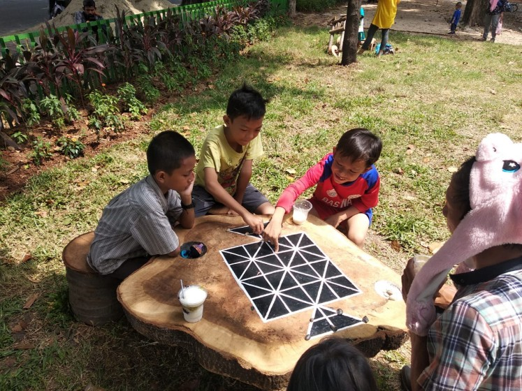 New park brings back traditional games