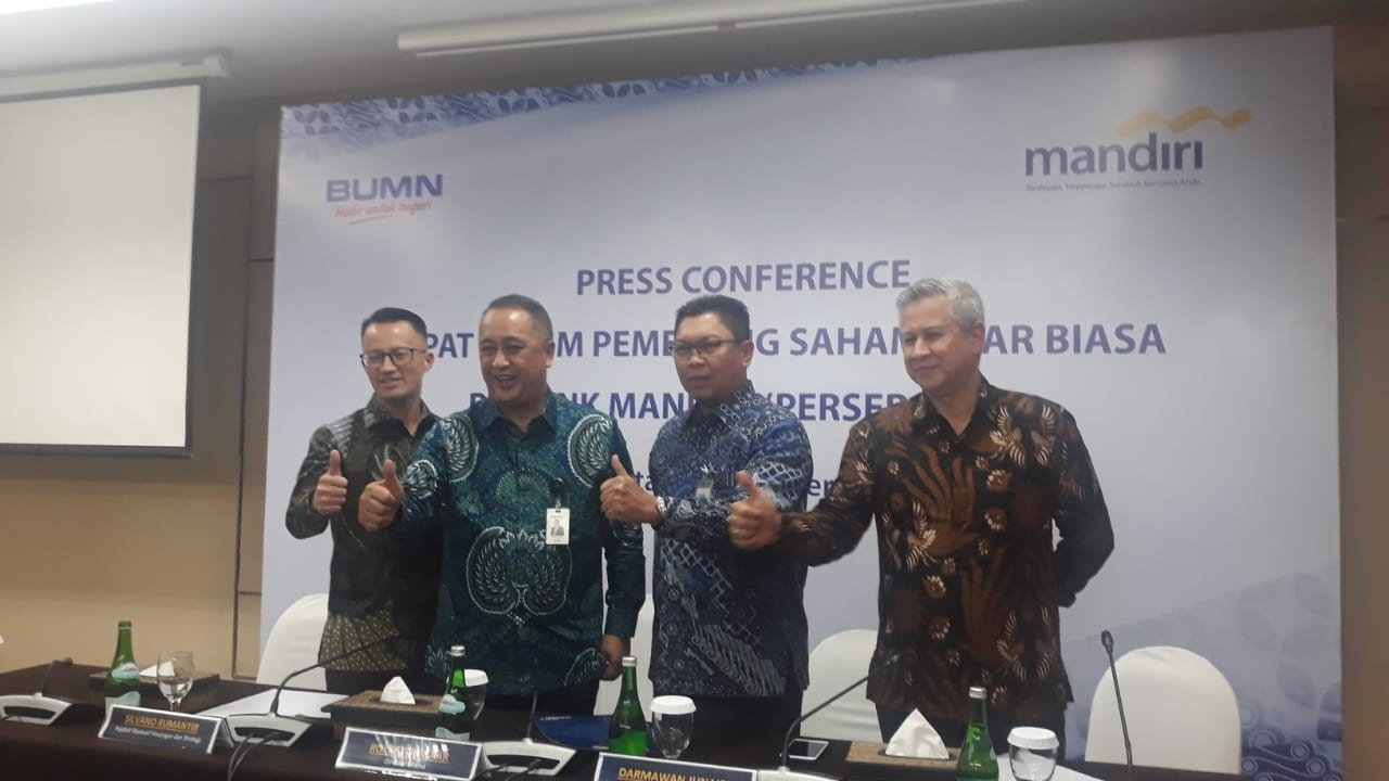 Royke Tumilaar appointed Bank Mandiri president director