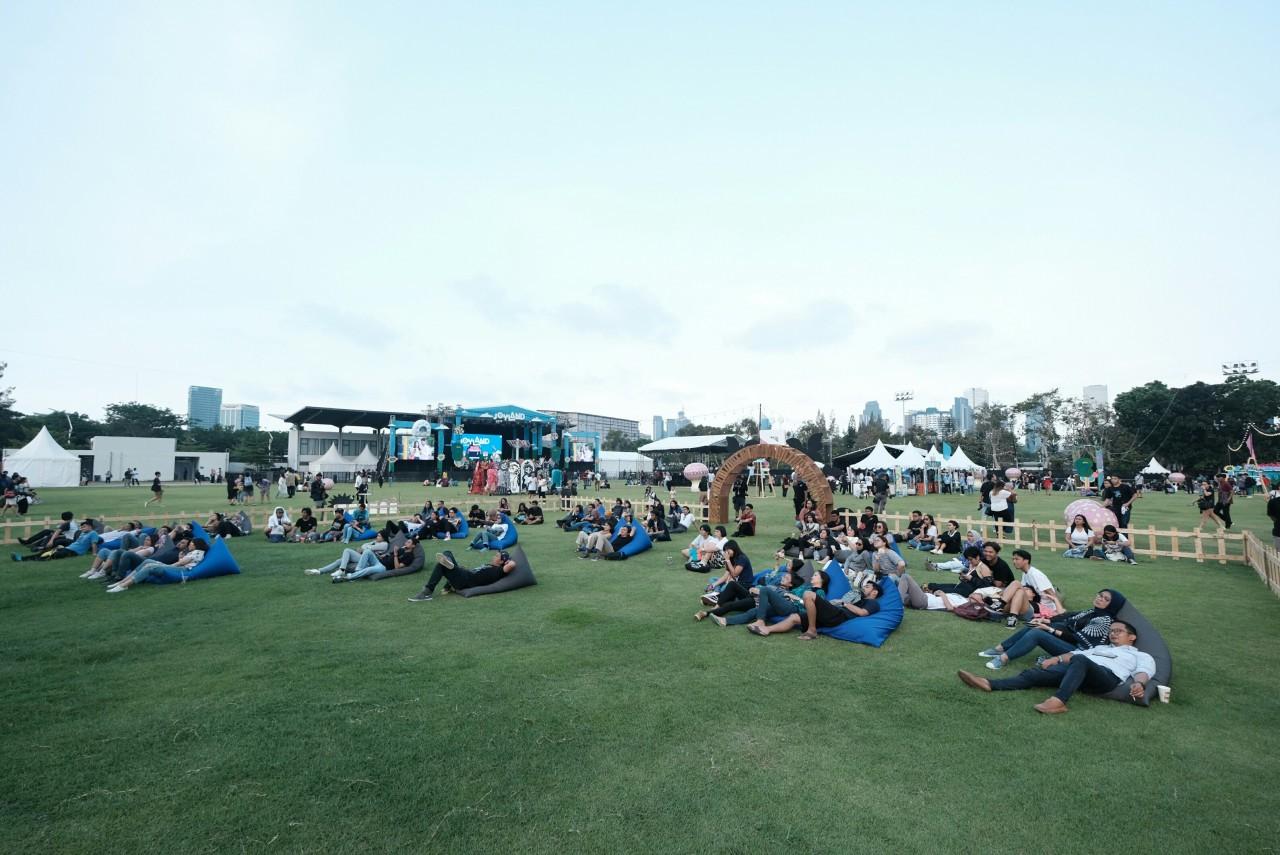 Joyland Festival: Being horizontal, getting up, dancing, repeat