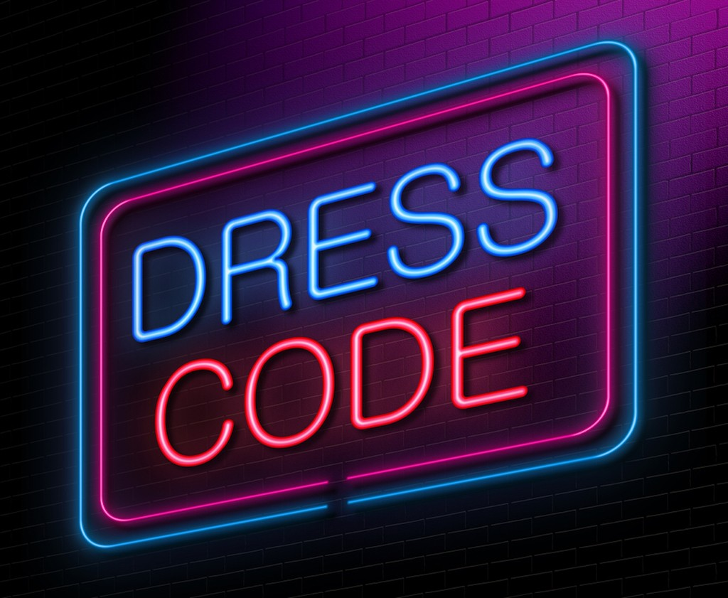 What do you do when the party invite says 'dress to distress'?