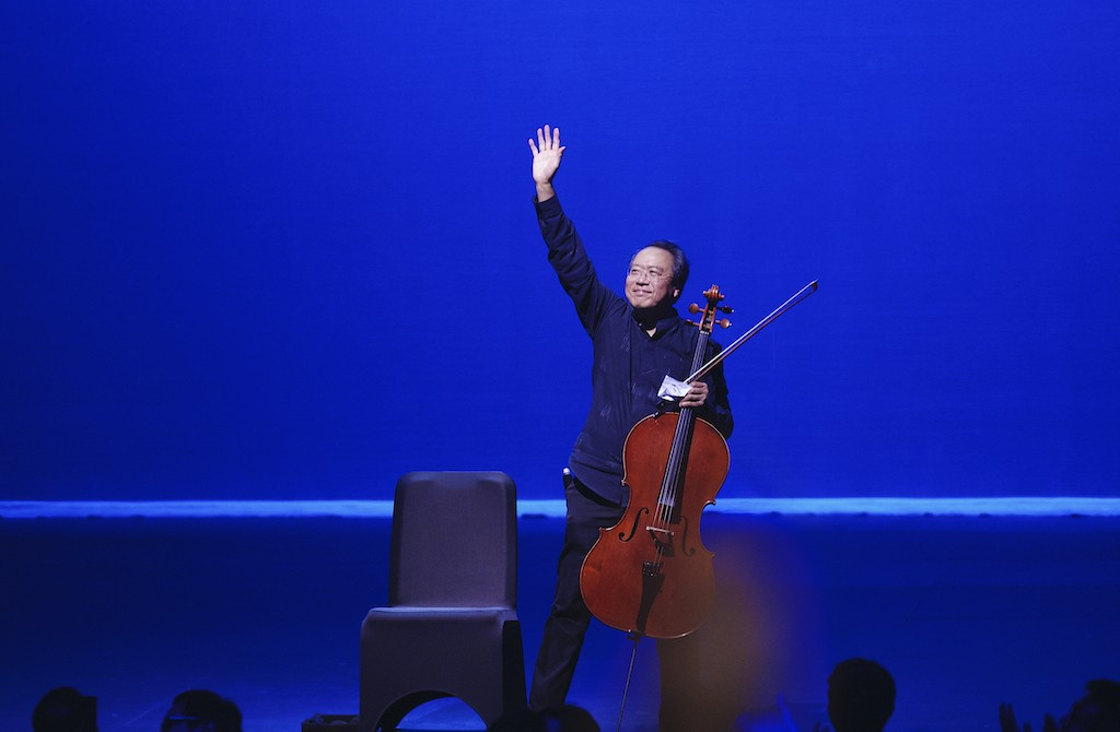 Yo-Yo Ma gives stunning performance in first Indonesian concert