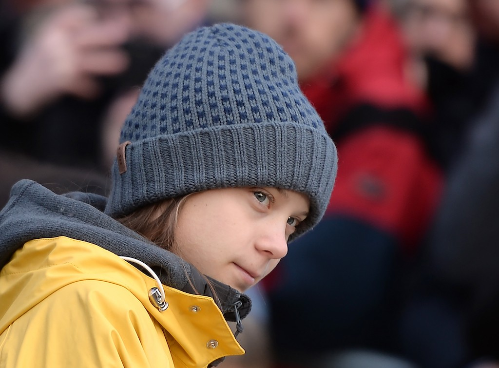 Climate strike but no cake for Greta Thunberg as she turns 17