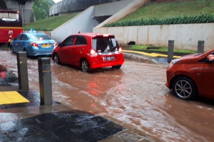 Heavy rain causes inundation across Jakarta