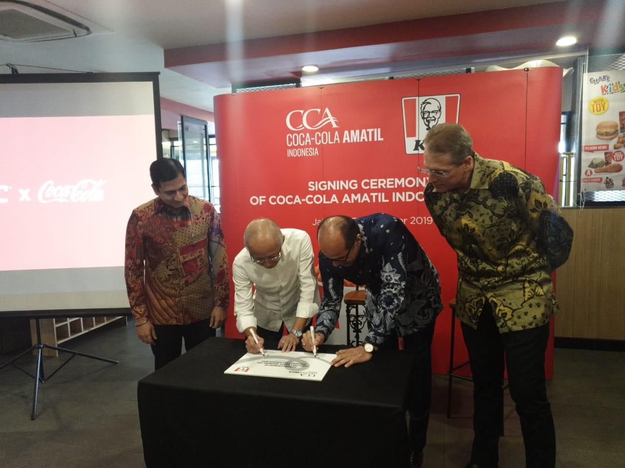 Bright future for Coca-Cola as it replaces Pepsi in KFC Indonesia restaurants