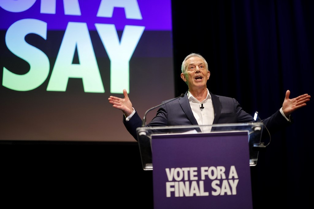 Tony Blair blames 'crazed socialism' for Labour defeat