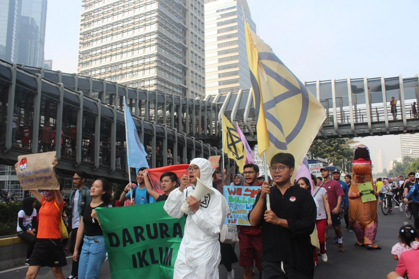 Extinction Rebellion Indonesia urges govt to declare climate emergency