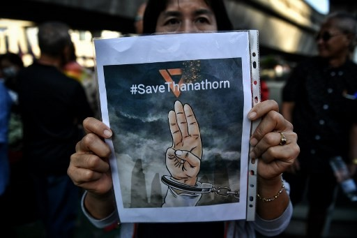 Thai court accepts 'Illuminati' case against opposition party