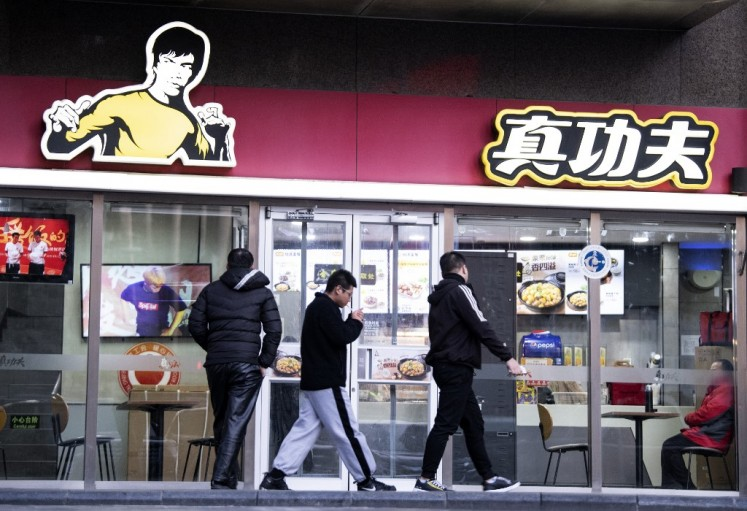 Bruce Lee's daughter sues fast food chain for using father's image
