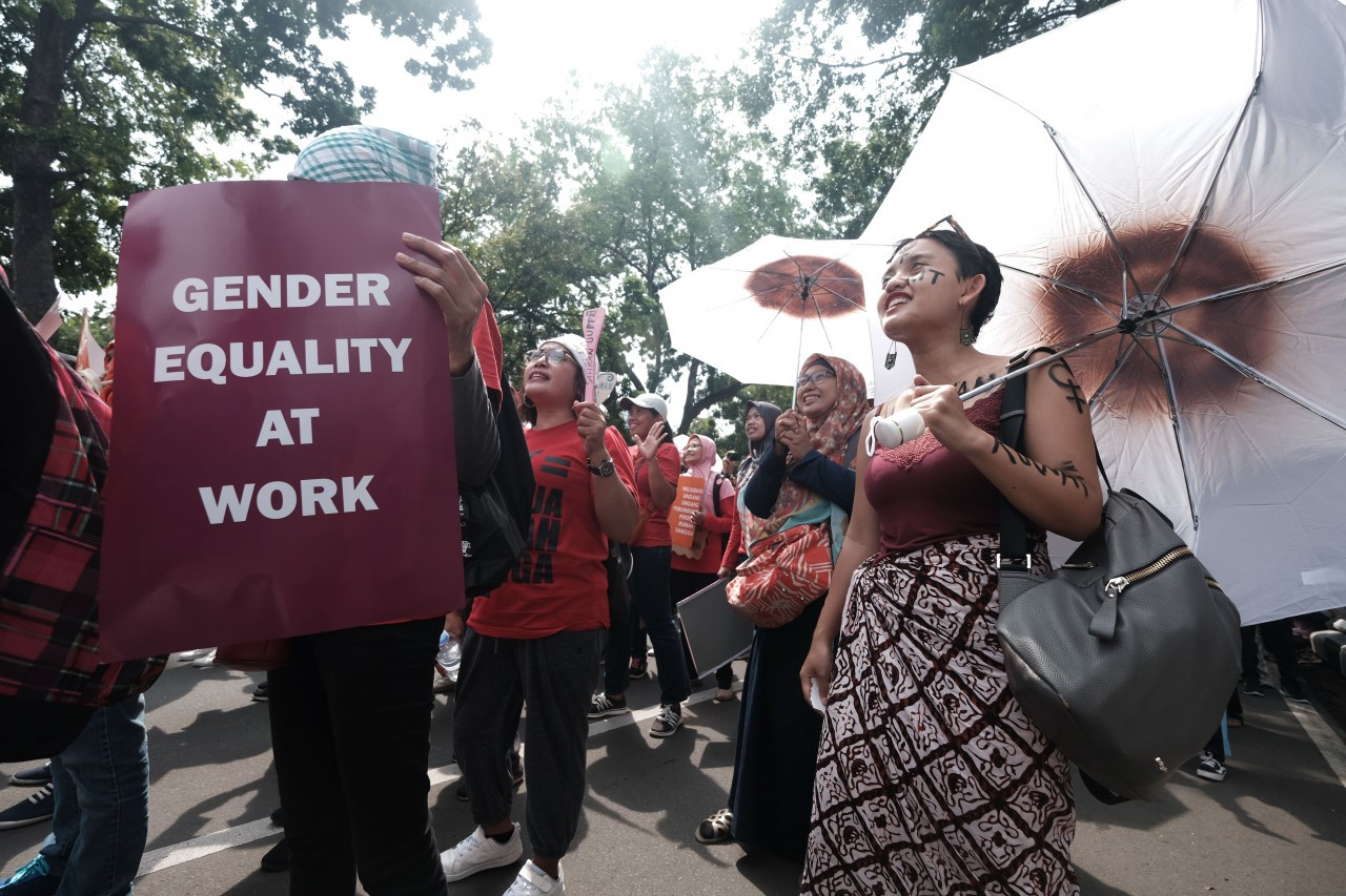 More Indonesian women in labor market, fewer in politics: Gender Gap Report