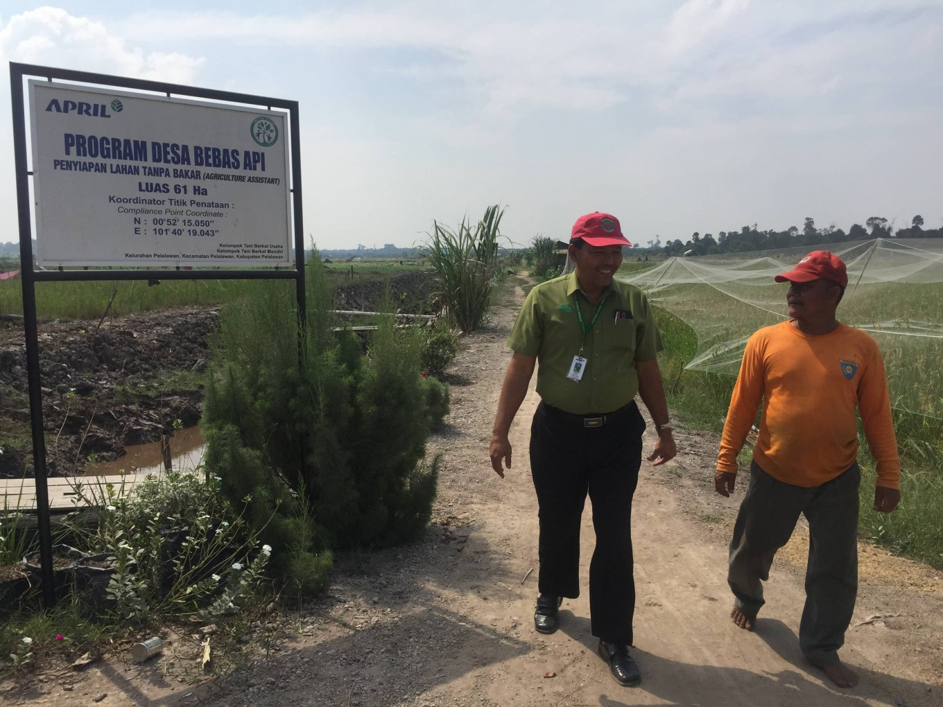 APRIL advocates multi-stakeholder approach to address fire prevention in Indonesia