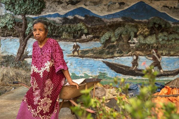 The collective memory of Batang Hari River