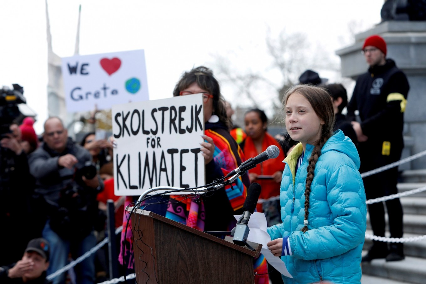 I wouldn't have wasted my time on Trump, says Greta Thunberg