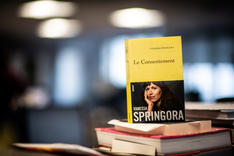New book smashes taboo over French author's sex with teens