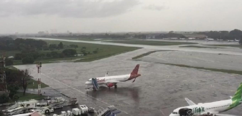Halim Perdanakusuma Airport back to normal after massive flooding