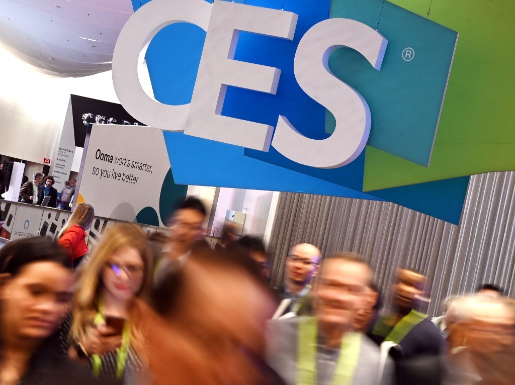 Tech show offers big and flashy, up-close and (very) personal