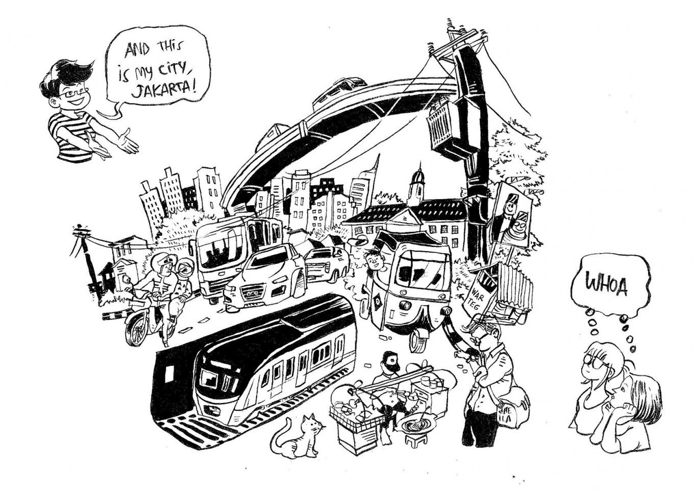 Book your story: Of comics, cityscapes and urban nature