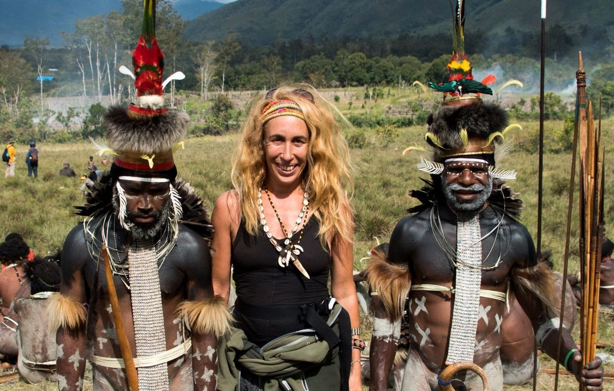 Ethnographer Anouk Garcia sees Indonesian tribes as survivors