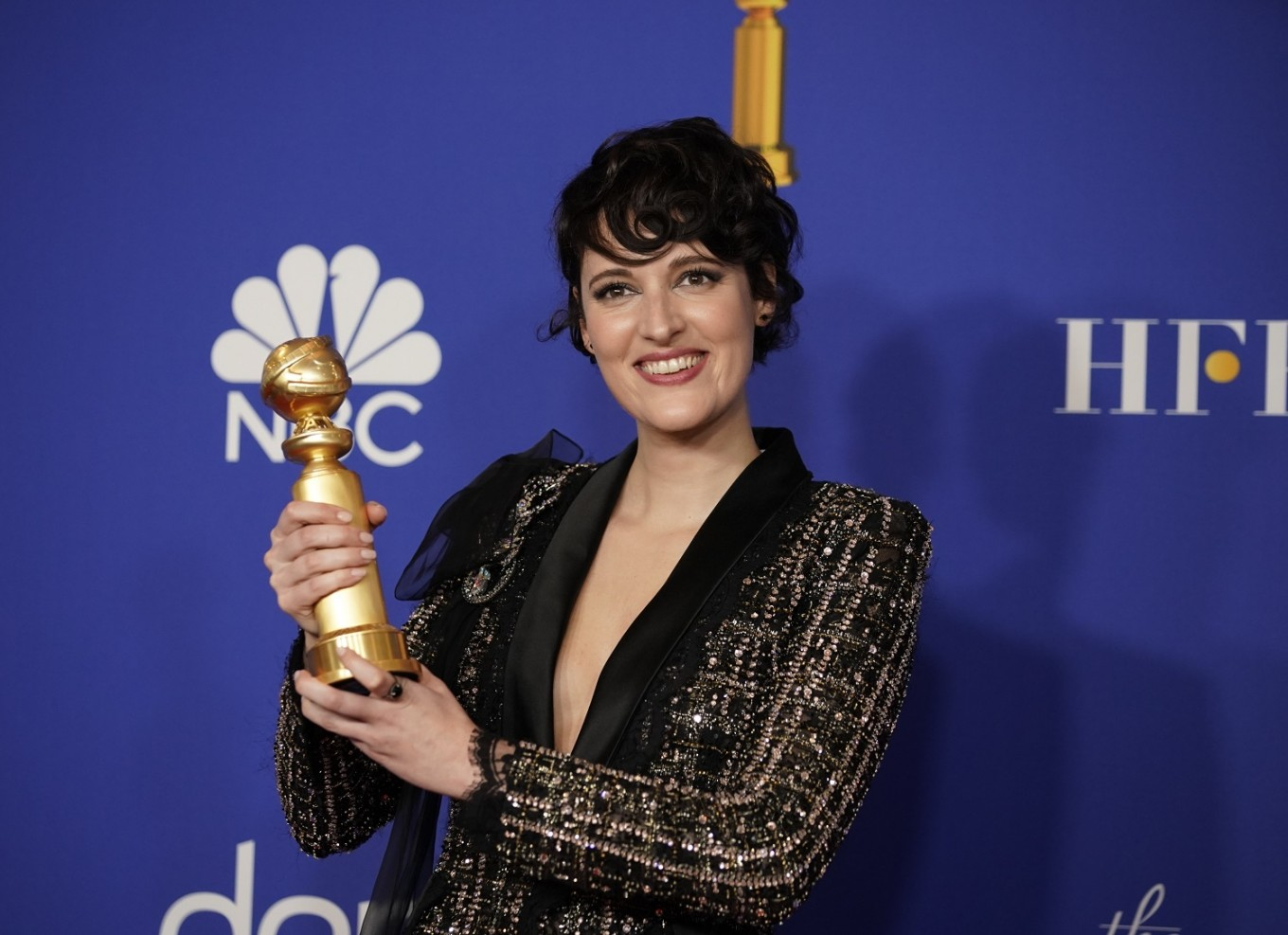 'Fleabag', Succession' win TV Globes as Gervais lets rip at Hollywood